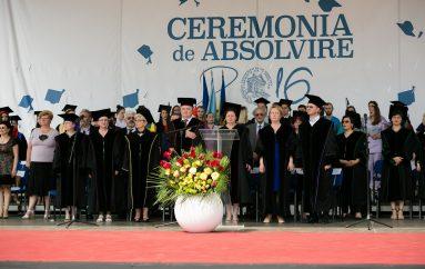 Ceremonia de Absolvire a Promotiei UMF 2016