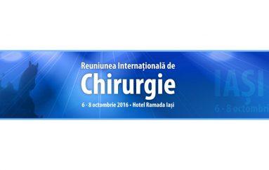 """Reuniunea Internationala de Chirurgie"", in octombrie, la Iasi"