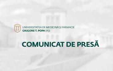 COMUNICAT DE PRESĂ | 31 iulie 2017