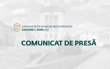 """COMUNICAT DE PRESĂ :: U.M.F. """"Grigore T. Popa"""" a câştigat  litigiul  împotriva Asociaţiei Liga Studenţilor din Universitatea """"Alexandru Ioan Cuza"""""""