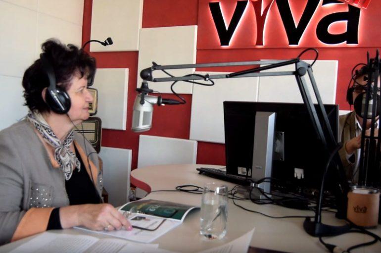 Interviul live al dnei. prorector Doina Azoicai la Viva Fm