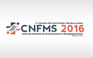 Conferinta Natională de Farmacoeconomie si Management Sanitar – editia a III-a