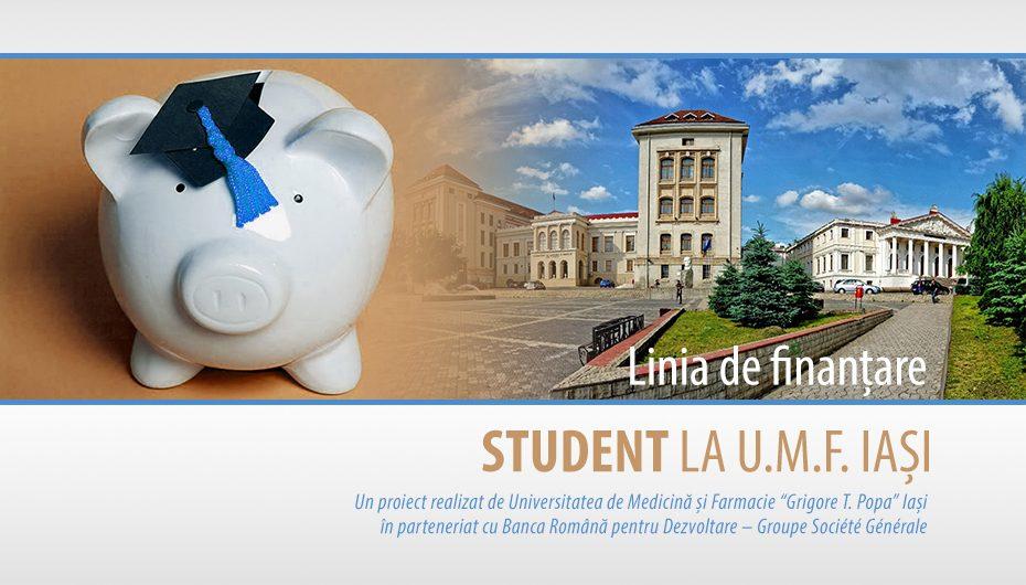 Linie de finantare pentru studentii cu taxa de la UMF Iasi