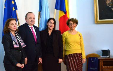Vizita diplomatica la UMF Iasi