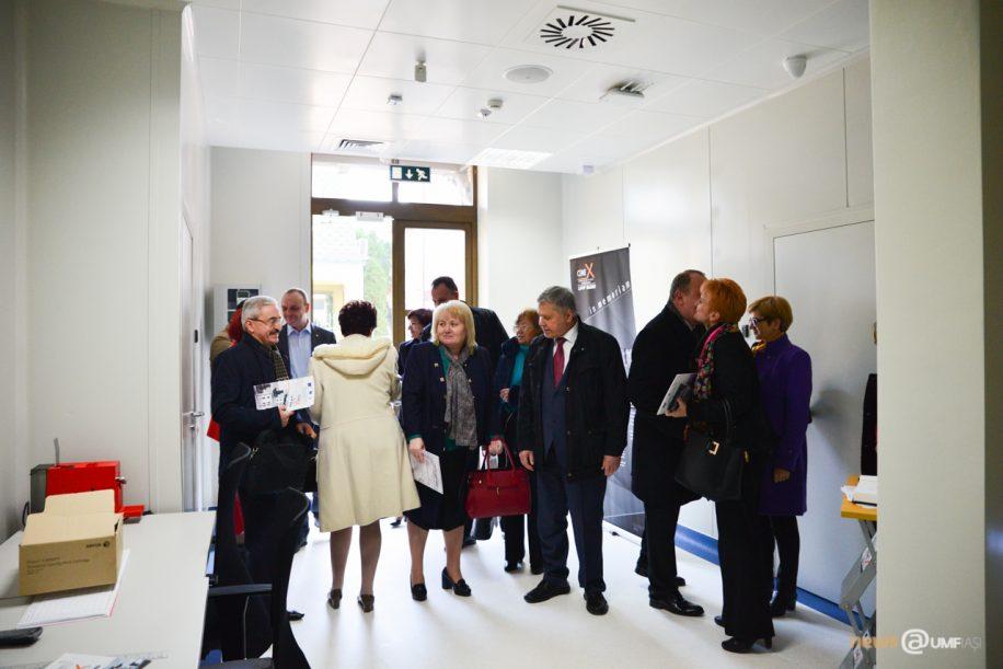 """Conducerea USMF """"Nicolae Testemitanu"""" din Republica Moldova, in vizită la UMF Iasi"""
