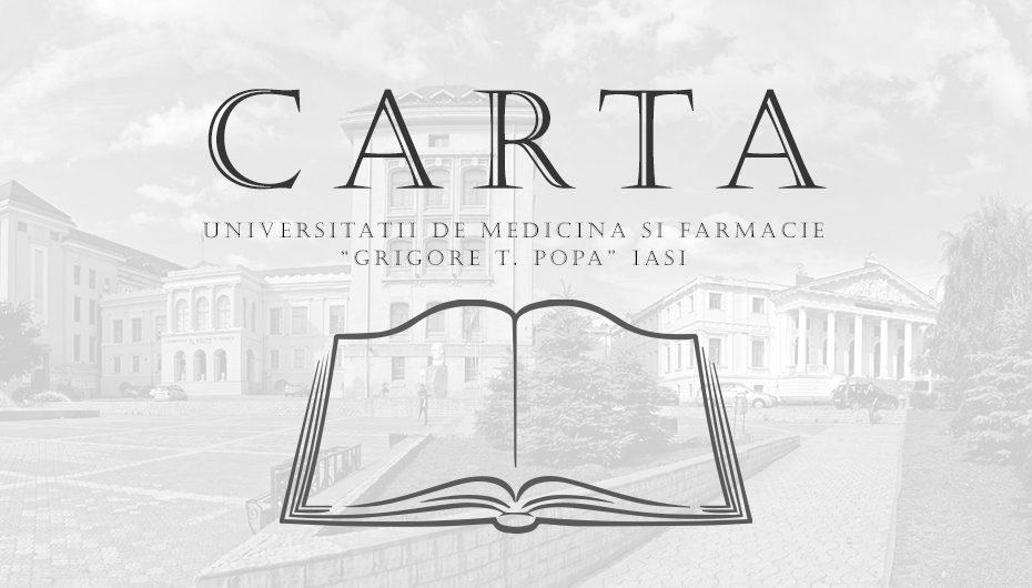 Dezbatere publica: Noua CARTA a UMF Iasi