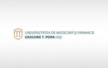 Noua identitate vizuala a UMF Iasi, premiata la Gala Edumanager