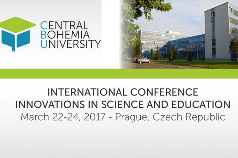 "Conferinta internatională ""Inovatii in Stiinta si Educatie"""