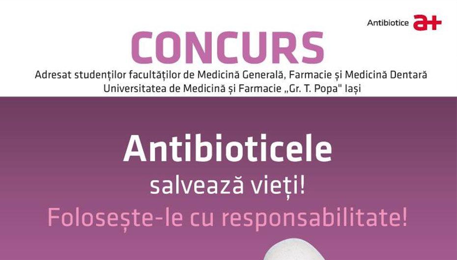 Termenul de inscriere la concursul Antibiotice s-a prelungit pana pe 15 februarie