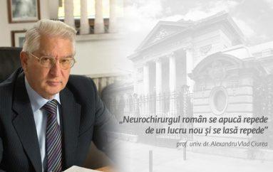 """Neurochirurgul roman se apuca repede de un lucru nou si se lasa repede"""