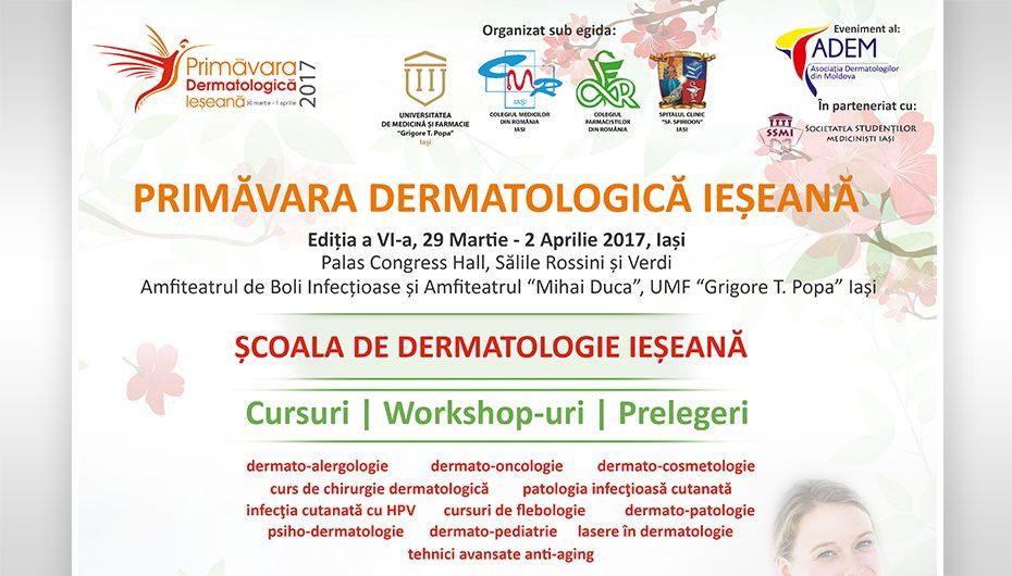 Primăvara Dermatologică Ieşeană 2017