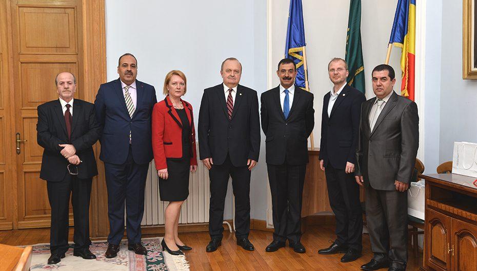 Vizită diplomatică la UMF Iași