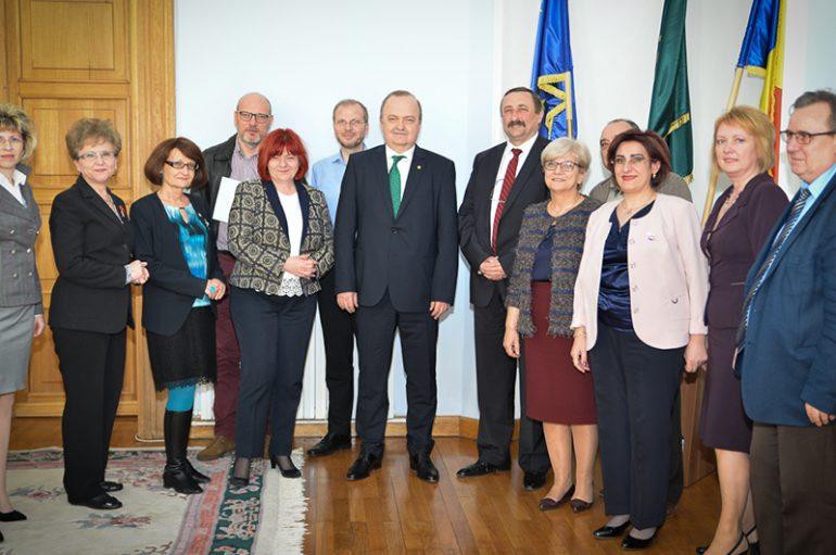"""Memorandum de colaborare între Universitatea de Medicină și Farmacie """"Grigore T. Popa"""" Iași și Universitatea Tehnică """"Gheorghe Asachi"""" din Iași"""