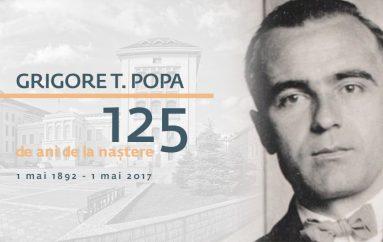 UMF Iași sărbătorește 125 ani de la nașterea lui Grigore T. Popa