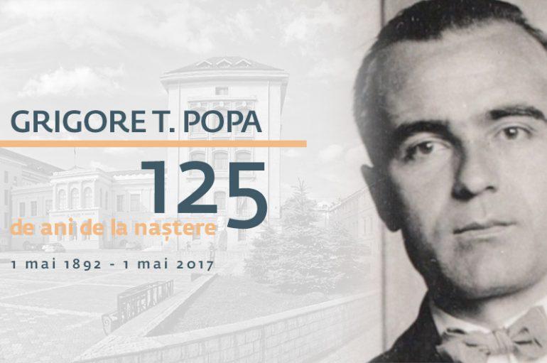 Grigore T. Popa, 125 de ani de la naștere. Aniversarea inedită de la UMF Iași, în imagini (FOTO ȘI VIDEO)