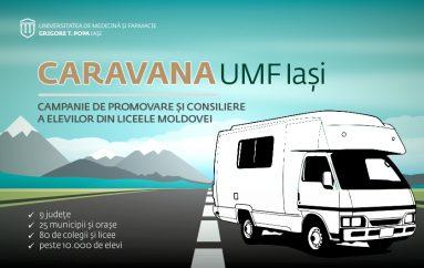 Caravana UMF Iași își continuă traseul: Galați, Brăila și Vrancea