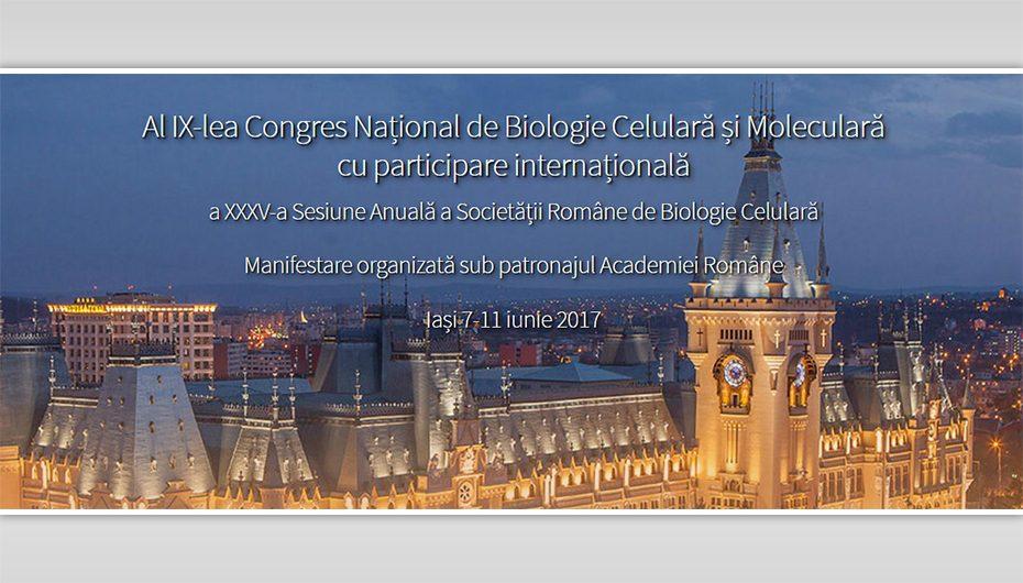 Congresul Internațional de Biologie Celulară și Moleculară cu participare internațională