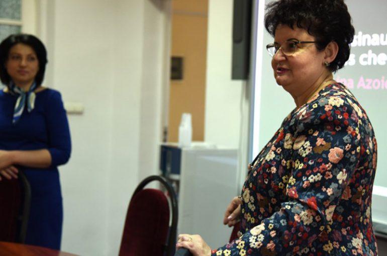 """Universitatea de Stat de Medicină și Farmacie """"Nicolae Testemițanu"""" a conferit prof. univ. dr.  Doina Azoicăi titlul onorific """"Visiting Professor"""""""