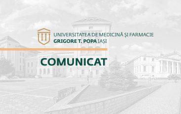 UMF Iași este prima Universitate de Medicină și Farmacie din România cotată în Times Higher Education World University Rankings
