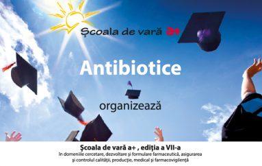 Școală de vară la Antibiotice