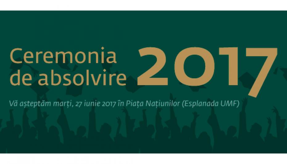 UMF Iași își sărbătorește absolvenții