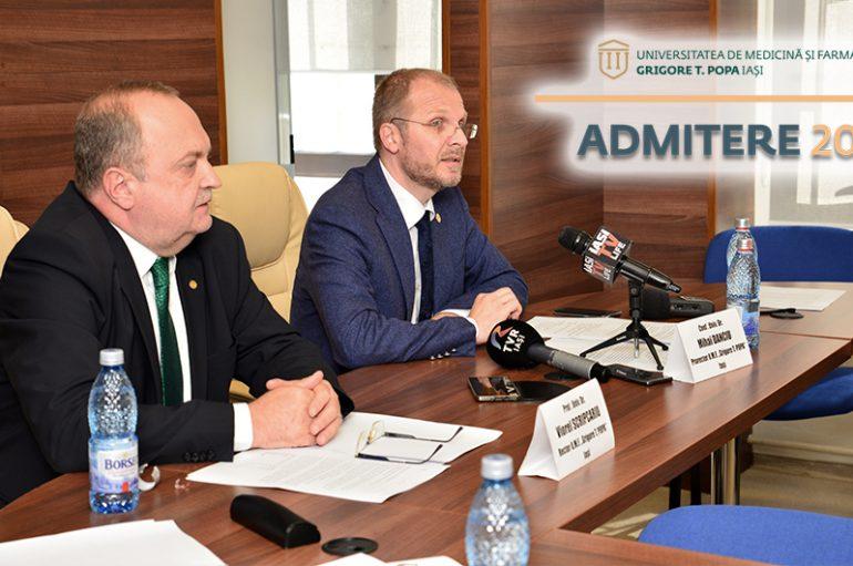 """CONCLUZIILE Admiterii de vară la U.M.F. """"Grigore T. Popa"""" Iași"""