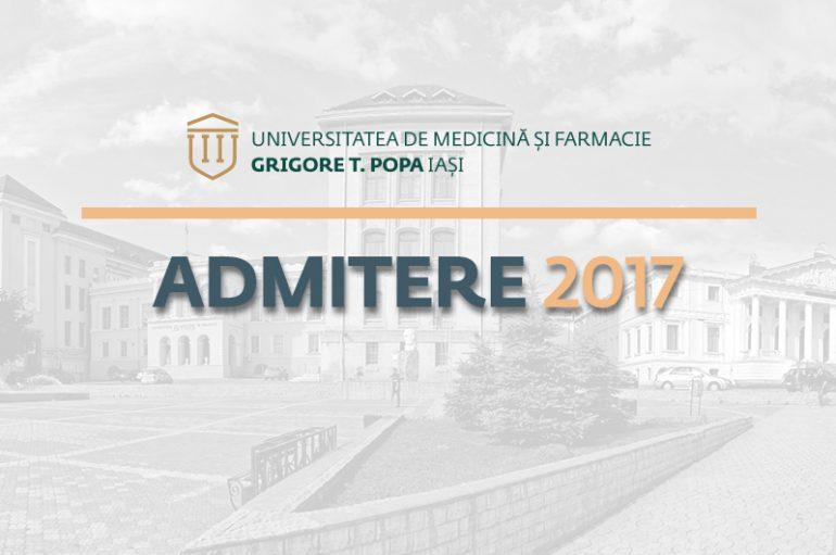 Admiterea de toamnă la UMF Iași: pe 20 septembrie candidații susțin testul grilă