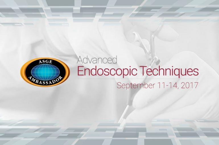 "Workshop ASGE ""Advanced Endoscopical Techniques"" la IRO"