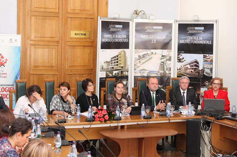 """""""Proiectul inimilor"""", prezentat la UMF Iași Comisarului European Marianne Thyssen"""