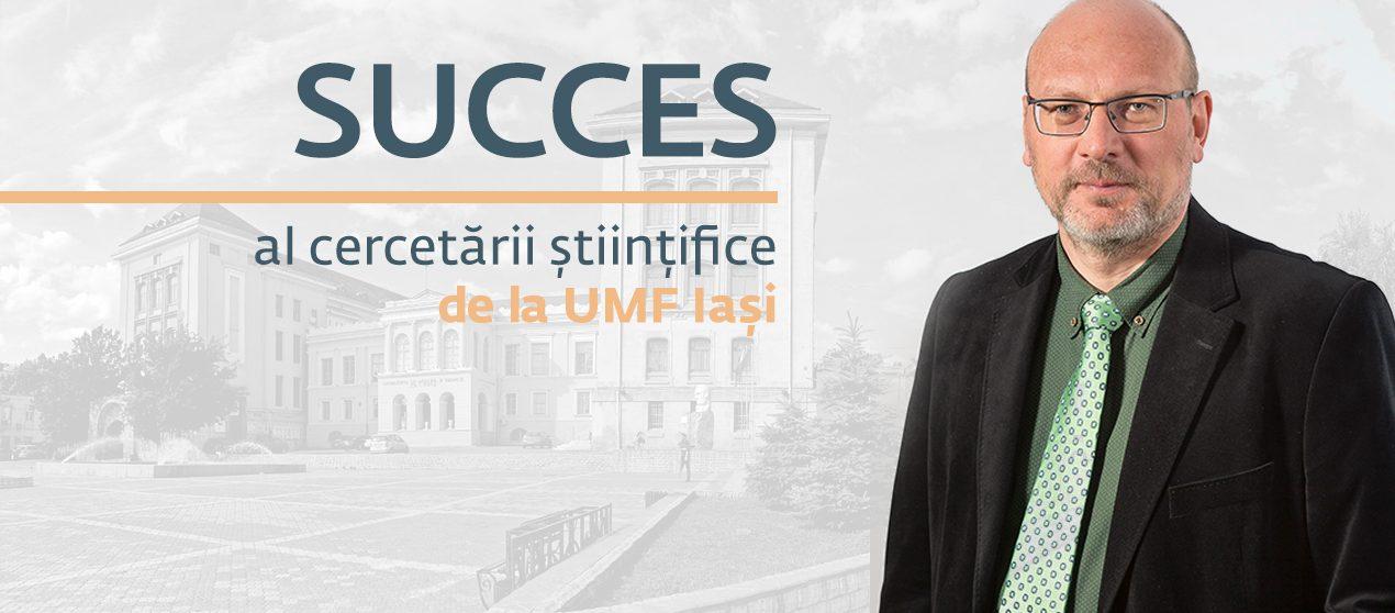 Succes al cercetării științifice de la UMF Iași