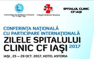 Zilele Spitalului Clinic C.F. Iaşi 2017
