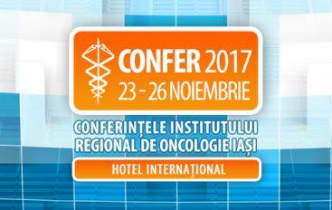 Conferințele Institutului Regional de Oncologie Iași – CONFER 2017