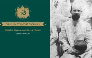 Zilele UMF Iași – Expoziția documentară dr. Jean Clunet