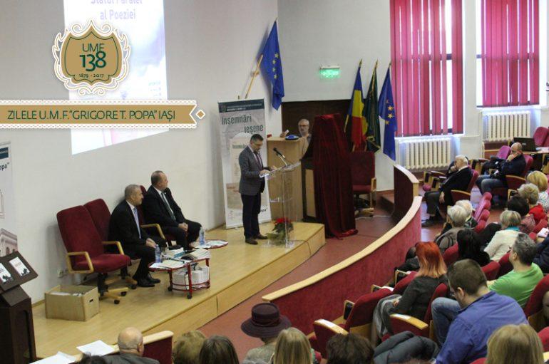 Zilele UMF Iași, decembrie 2017 – Manifestări de excepție în cea de a doua parte a evenimentului