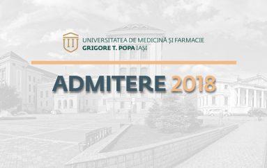 Calendarul concursului de admitere la UMF Iași: testul grilă va avea loc pe 25 iulie