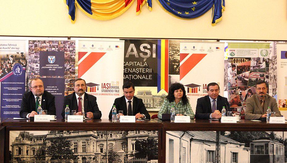 """""""Iași, orașul studenției tale"""", primul proiect comun de promovare a centrului universitar din capitala Moldovei"""