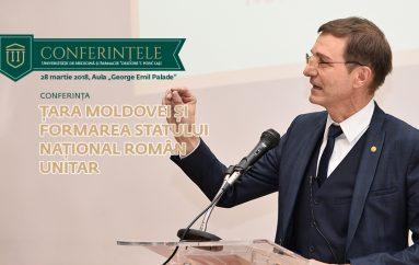 """Academician Ioan-Aurel Pop: """"Măcar în acest an, al Centenarului, să ne simțim cu toții moldoveni, ca să fim mai buni români"""""""