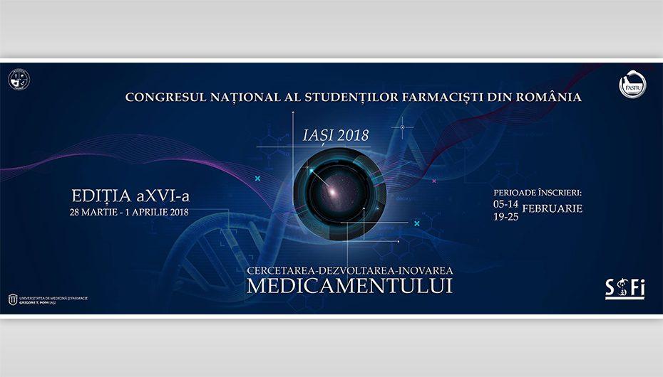 UMF Iași, gazda celei de-a XVI-a Ediții a Congresului Național al Studenților Farmaciști din România
