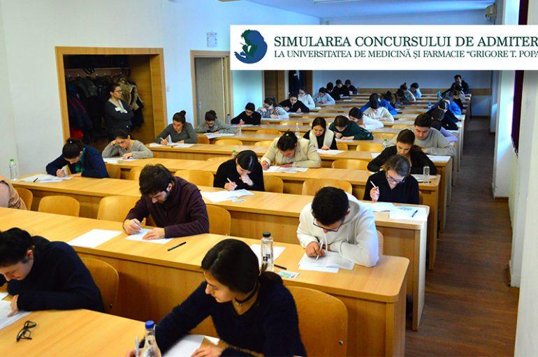 1000 de elevi au participat la prima sesiune de simulare a examenului de admitere
