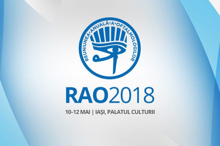 RAO 2018 – a 54-a Reuniune Anuală a Oftalmologilor