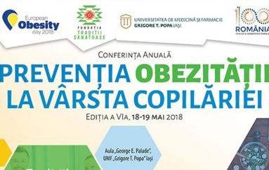 Obezitatea la vârsta copilăriei, dezbătută la UMF Iași
