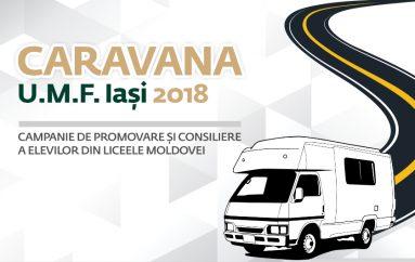 Caravana UMF Iași – Campanie de promovare și consiliere a elevilor din Moldova