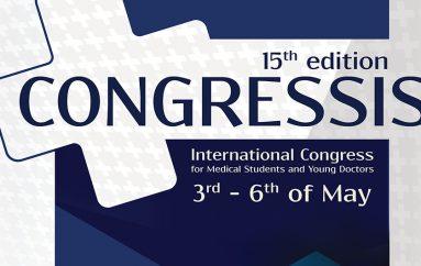 CONGRESSIS 2018 – Congresul Internațional pentru Studenți și Tineri Medici (Iași, 3 – 6 Mai