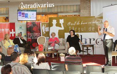 UMF Iași a participat cu trei lansări de carte și o conferință inedită la Târgul de Carte Librex 2018