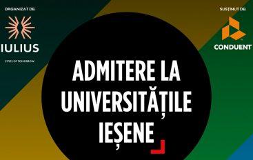 """Liceenii sunt invitați să afle totul despre """"admitere la universitățile ieșene"""", în week-end, la Palas"""