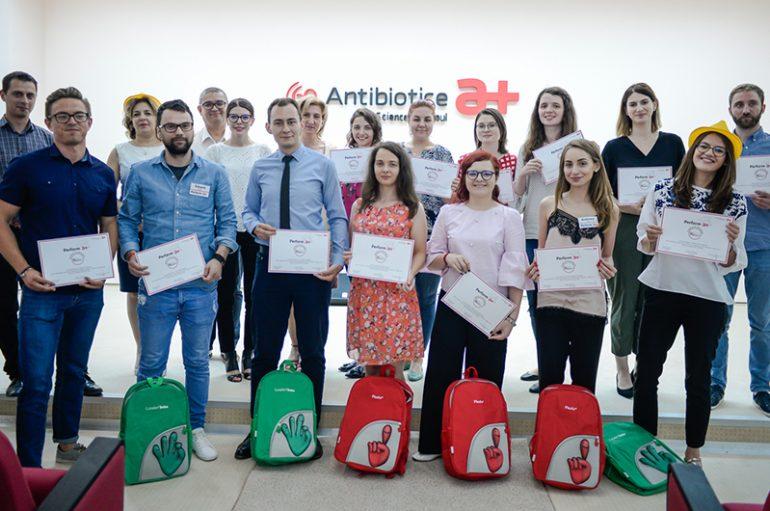 Antibiotice Iași pregătește viitorii performeri ai cercetării
