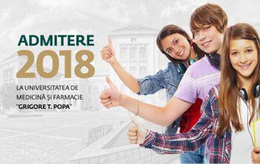 Situația finală a înscrierilor pentru concursul de admitere la UMF Iași (UPDATE 21 iulie)