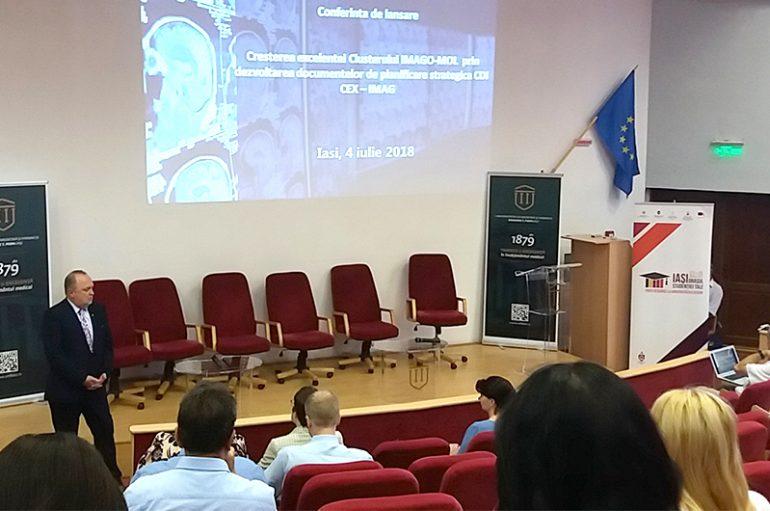 Lansare de proiect în cadrul Clusterului IMAGO MOL