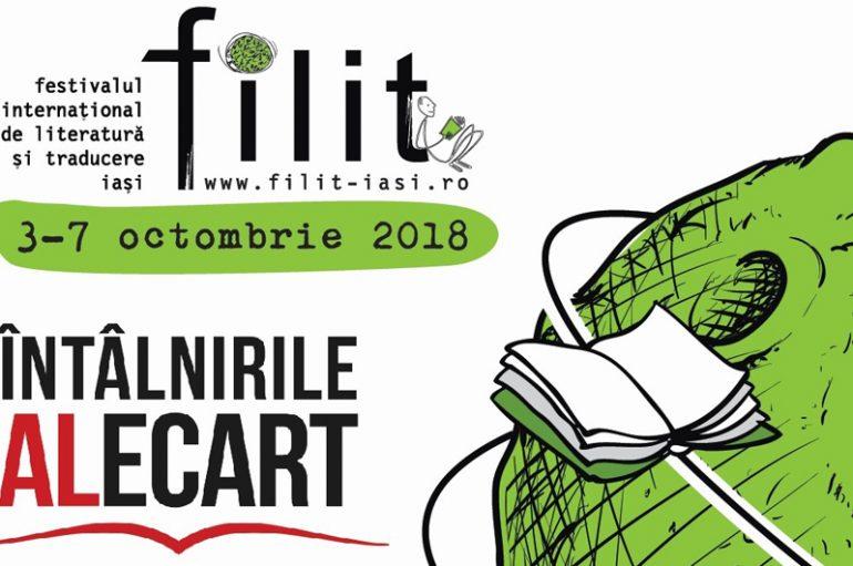 Parteneriat UMF Iași – FILIT: întâlniri cu scriitori la Centrul de Limbi Moderne