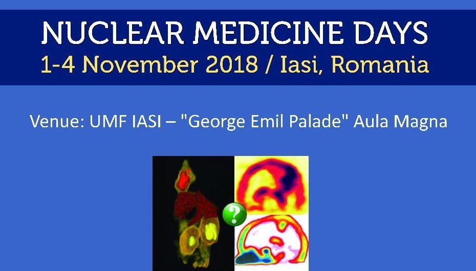 Zilele Medicinei Nucleare – IAȘI 2018